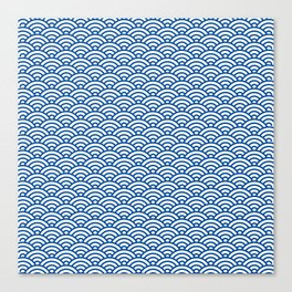 """""""Seigaiha"""" Japanese traditional pattern Canvas Print"""