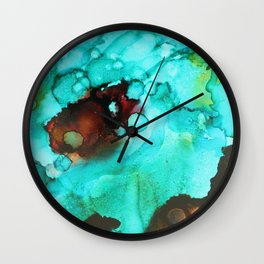 Beach Shallows Wall Clock