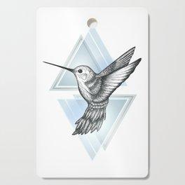 Hummingbird - Blue Cutting Board