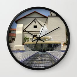 Mission Water Wall Clock