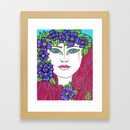 Antheia Framed Art Print