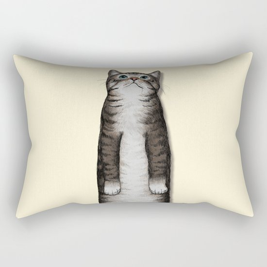Look Rectangular Pillow