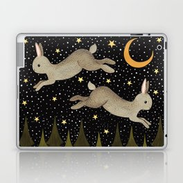 midnight hare Laptop & iPad Skin