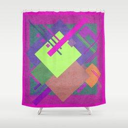 Geometric illustration 50 Shower Curtain