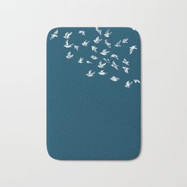 Flying Free (on Blue) Bath Mat