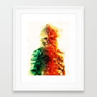 chewbacca Framed Art Prints featuring Chewbacca by Tom Johnson