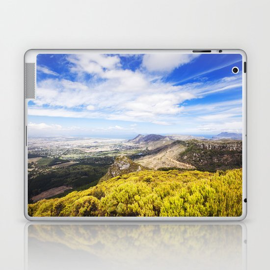 View of Silvermine and False Bay Laptop & iPad Skin