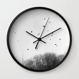 The Birds Wall Clock