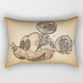 Mick-anical Rectangular Pillow