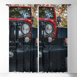 Wheelin' Blackout Curtain