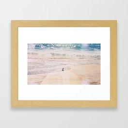 Surf's up Framed Art Print