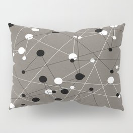 Molecular Pattern Pillow Sham