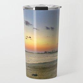 Sunset on the GC Travel Mug