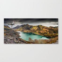 Llyn Peris Snowdonia Canvas Print