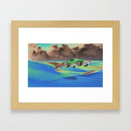 hot wheelies. Framed Art Print