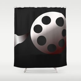 Film Roll Shower Curtain