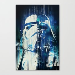 Storm Vader // Darth Troopers Canvas Print