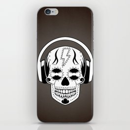 Groovy Skull iPhone Skin