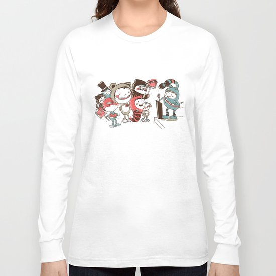 Costume Party Long Sleeve T-shirt