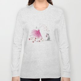 DANCE OF THE CHERRY BLOSSOM Long Sleeve T-shirt