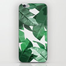 Tropical Palm Print iPhone & iPod Skin