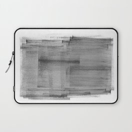 Abstract Watercolor Painting Black and White Wall Art Print Scandinavian Ink Living Room Decor Laptop Sleeve