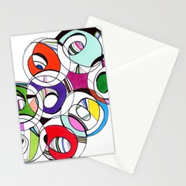 PinkLynnCreative Circles Stationery Cards