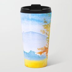 Autumn scenery #11 Metal Travel Mug