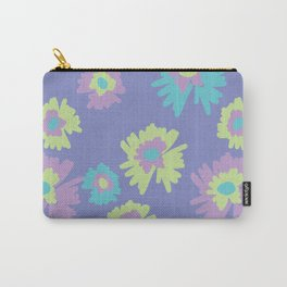 flowers pattern print floral spring Carry-All Pouch