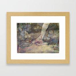 Unbearable Itch Framed Art Print