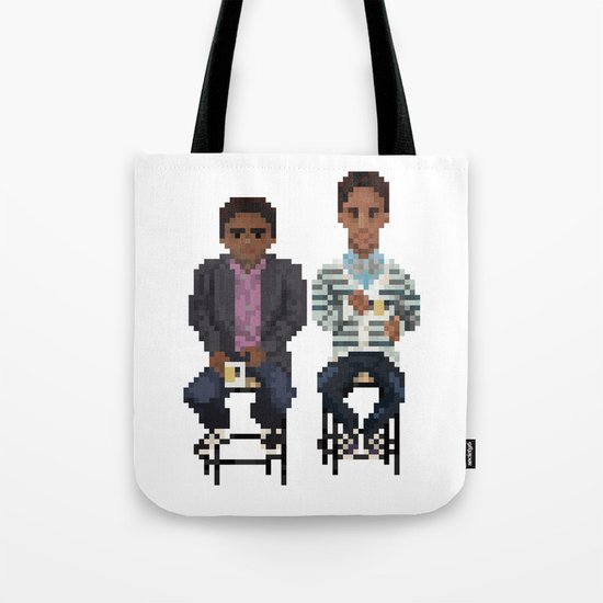 Troy And Abed In the Morning Tote Bag