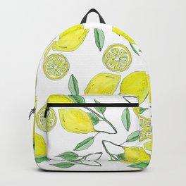 Life handed me lemons Backpack