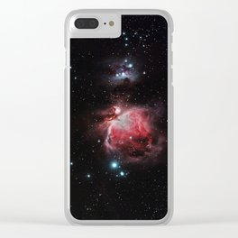 The Great Nebula in Orion Clear iPhone Case