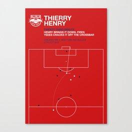 Henry Goal Canvas Print