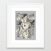 knight Framed Art Prints featuring Knight by Tshirt-Factory
