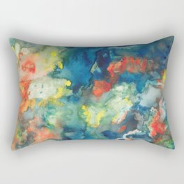 Mindscapes: Did you get hit by a bus or just have a baby? Rectangular Pillow
