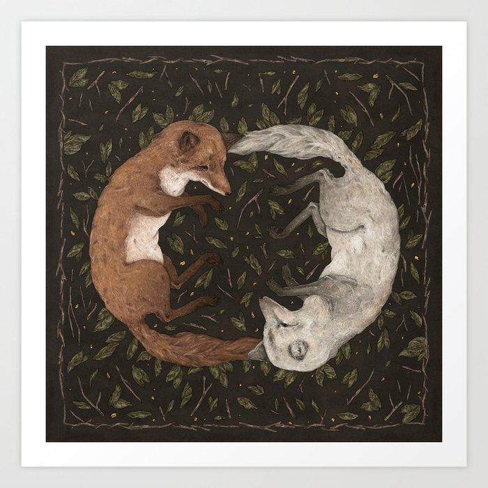 Foxes Kunstdrucke