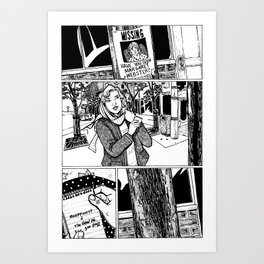 Johnny Public chapter 10, page 24 Art Print