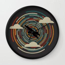 Retro Nature Wall Clock