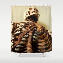 Foley Skeleton Shower Curtain