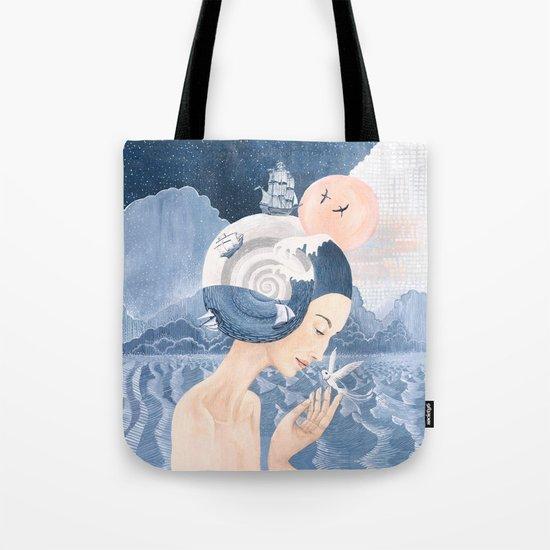 Sound of Sea Tote Bag