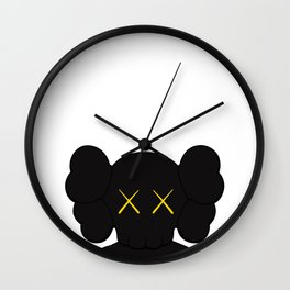 KAWS - Companion Black Wall Clock