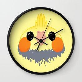 Cockatiel Birb Baby – v02 Wall Clock