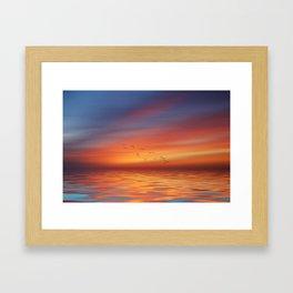 Over the Sea to Skye Framed Art Print