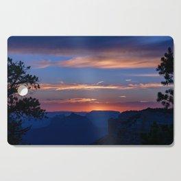 Colorful Sunset - North_Rim, Grand_Canyon, AZ Cutting Board