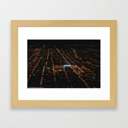 United Center: A Standout Arena (Chicago Architecture Collection) Framed Art Print