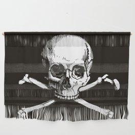 Skull and Crossbones   Jolly Roger Wall Hanging