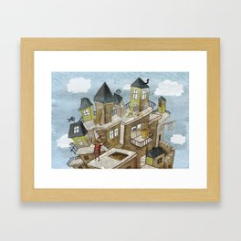 The house of secrets Framed Art Print