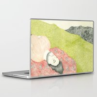 hollywood Laptop & iPad Skins featuring Hollywood by Jules Magistry