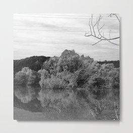 Fantastic landscape Austria 23 B&W Metal Print